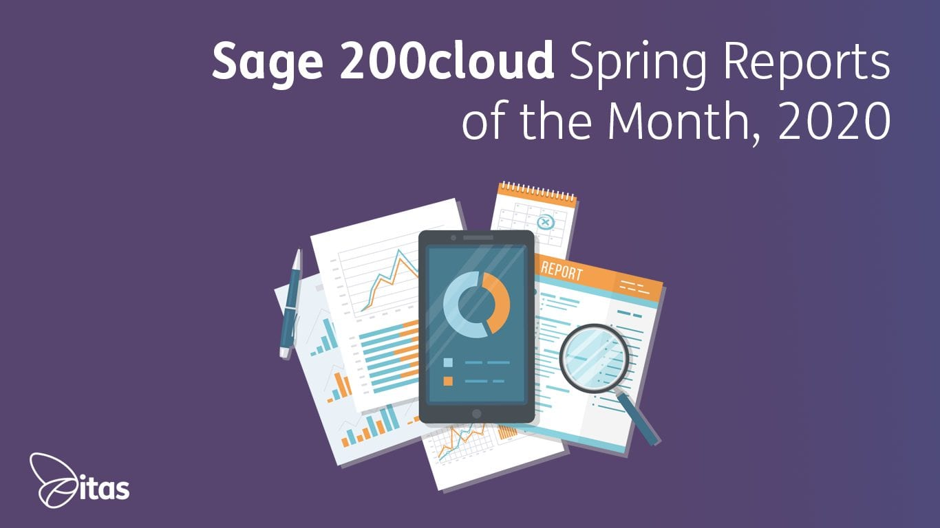 Sage 200cloud Spring Reports of the Month, 2020